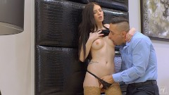 Rebecca Volpetti: NubileFilms – Hot Fuck With My Step-Daddy After Mom Leaves