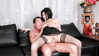 LETSDOEIT – Hot Sex With Mature Lady Riding Big Cock