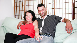 LETSDOEIT – Mature Italian BBW Gets Cumshot on Her Big Tits